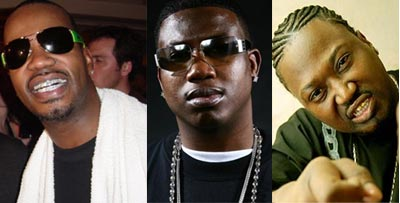 Juicy J, Gucci Mane, Project Pat