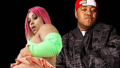Picture of rapper Twista and porn star Pinky
