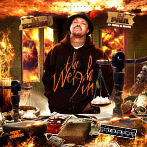 DJ Paul The Weigh In mixtape cover