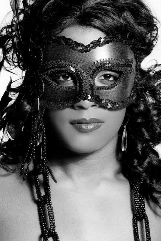 Gangsta Boo New Picture in Sexy Mask