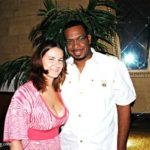 Julia Bevery and Uncle Luke - Ozone 2009 Birthday Party Miami