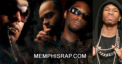 Picture of Lord Infamous, II Tone, T-rock and Chamillionaire at MemphisRap.com
