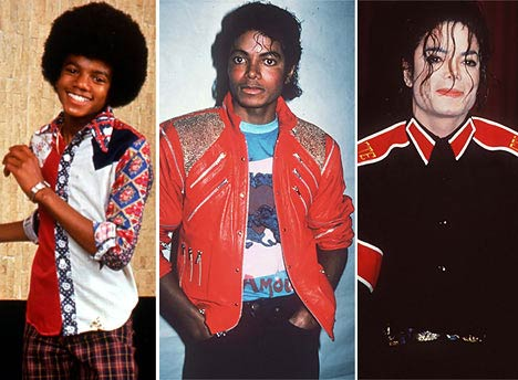 michael through the years