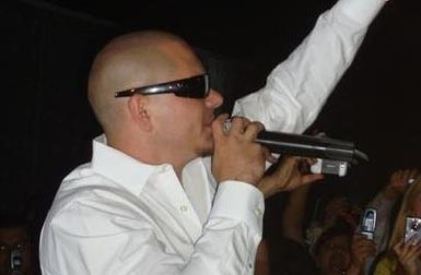 Photo of rapper Pitbull