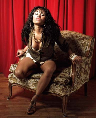Photo of female rapper Nicki Minaj