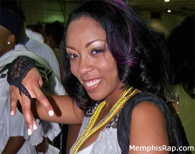 Photo of singer K. Michelle
