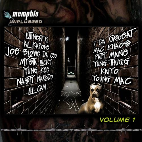 Memphis Unplugged Vol. 1 Mixtape cover
