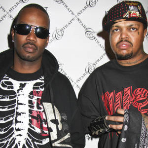 Juicy J and DJ Paul, members of Memphis rap group Three 6 Mafia