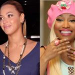 Photo of Beyonce Knowles and Nicki Minaj