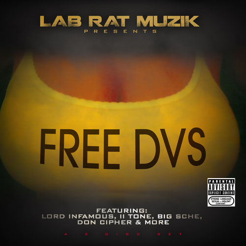 Mack DVS - FREE DVS Mixtape cover art