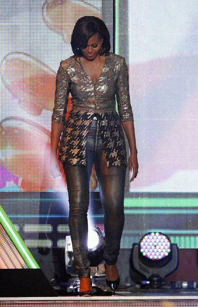 PHOTO: Michelle Obama Fashion At The Kids Choice Awards