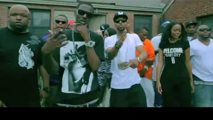 PHOTO: Drumma Boy, Young Dolph, Zed Zilla, Playa Fly - Welcome Video