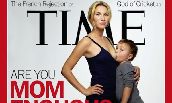 PIcture - Jamie Lynne Grumet and son Arman TIME magazine