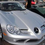 PHOTO: Kanye West and Amber Rose in Mercedes SLR McLaren