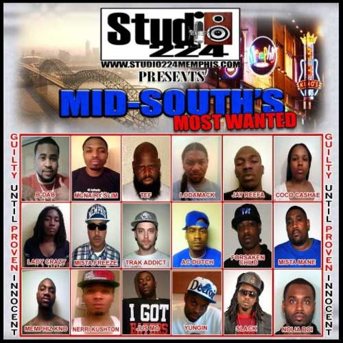 PHOTOS: Mid Souths Most Wanted (Mixtape)