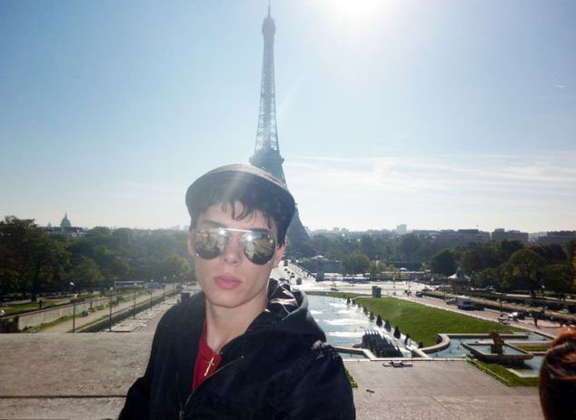 Photo of Luka Rocco Magnotta in Paris