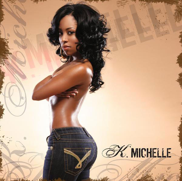 Photo of singer K. Michelle of Love & Hip Hop Atlanta in sexy jeans