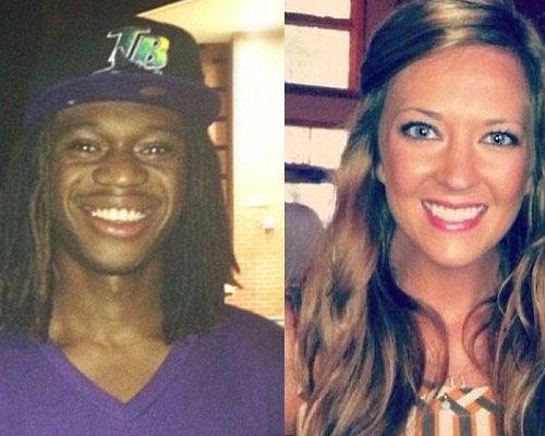 Photo of Justin Foster and Anna Michelle Walters