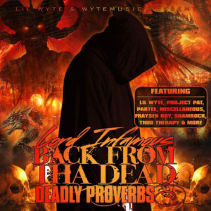 Photo of Lord Infamous Back From Tha Dead: Deadly Proverbs Cover