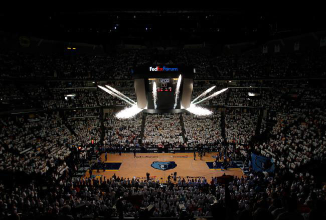 Photo of Memphis Grizzlies in FedExForum