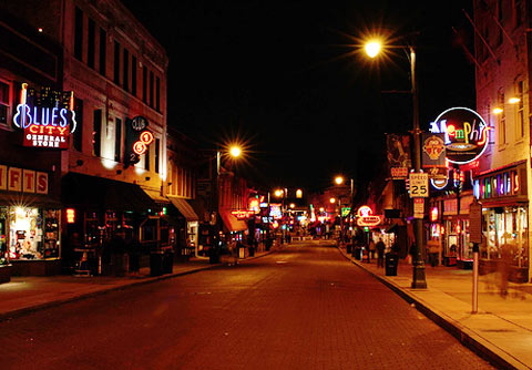 Photo - Beale Street entertainment district