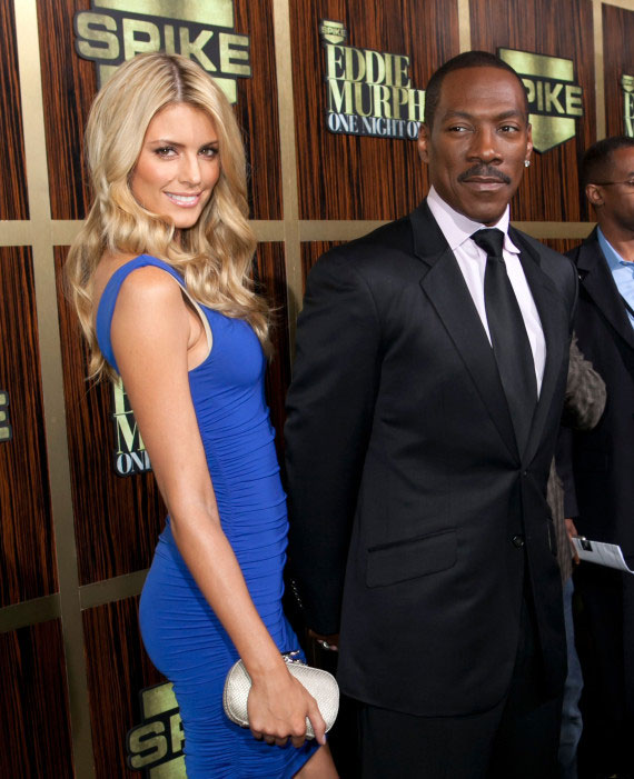 Photo of Eddie Murphy and new girlfriend Paige Butcher