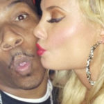 Picture of Coco and Rapper AP.9 Vegas Photos kiss