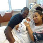 Photo of Jovan Belcher, Kasandra Perkins and baby Zoey