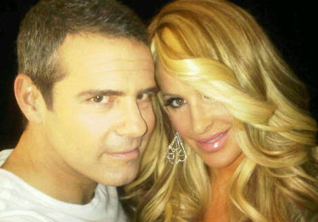 Photo of Kim Zolciak and Andy Cohen