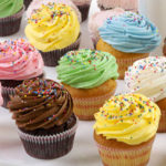 Assortment of Baked Cupcakes - Pastries
