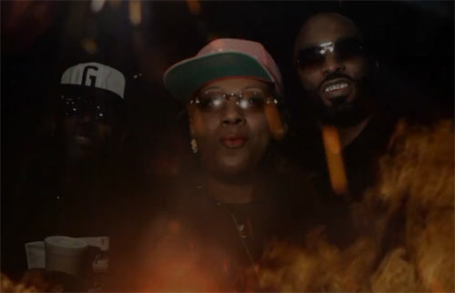 Photo - Rappers Miscellaneous, Gangsta Boo, MJG