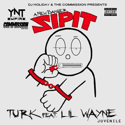 Turk music song Zip It promotional cover