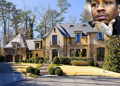 Photo of Allen Iverson Foreclosed Atlanta Home
