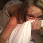 Photo of Teacher Carly McKinney aka Crunk Bear naked in bed picture