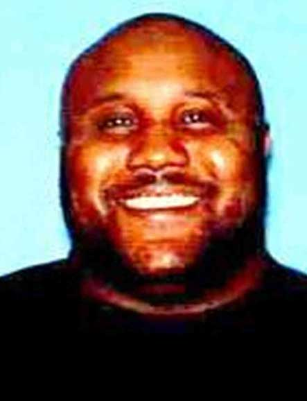 Photo of ex LAPD officer Christopher Jordan Dorner, suspected murderer
