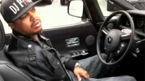 Video: DJ Paul Shows Off Rolls Royce Phantom, Other Rides