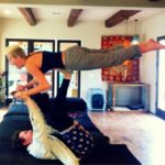 Photo - Miley Cyus Flying Like Superman