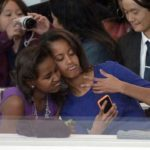 Photo of Sasha and Malia Obama Mean Mug