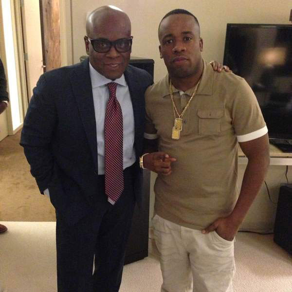 Photo of Yo Gotti and LA Reid