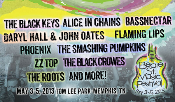 Memphis In May Beale St Music Festival 2013 Lineup