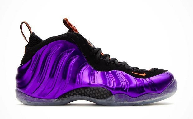 Nike Foamposite One Electro Purple/Total Orange - Phoenix Suns