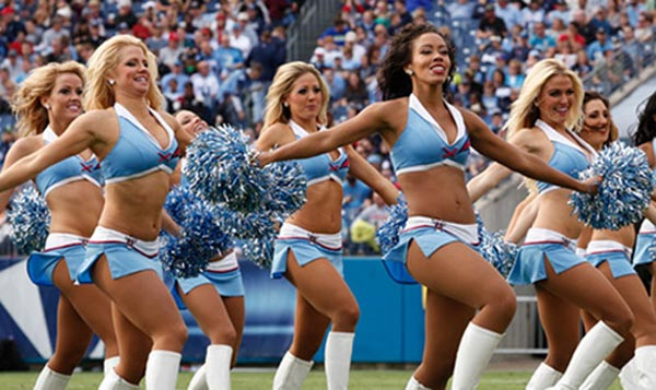 Tennessee Titans Cheerleaders Audition 2013