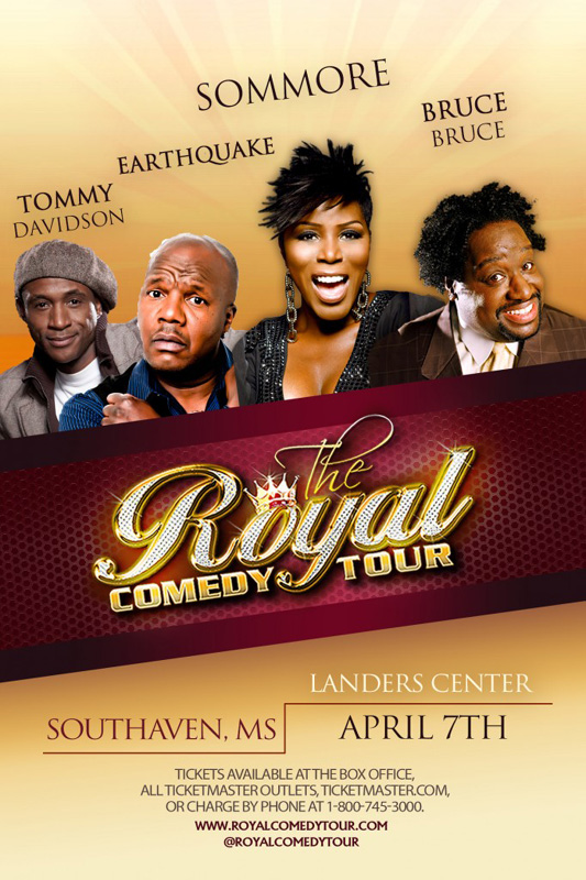 Royal Comedy Tour 2013 Memphis