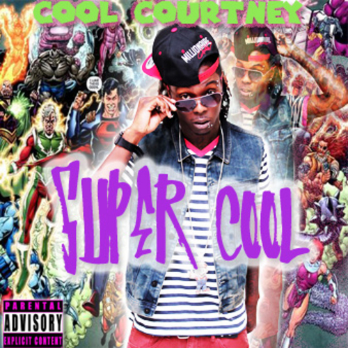 Cool Courtney - Super Cool Mixtape cover