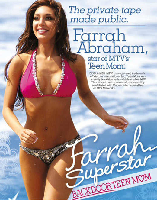 Farrah Abraham Sex Tape Farrah Superstar Backdoor Teen Mom