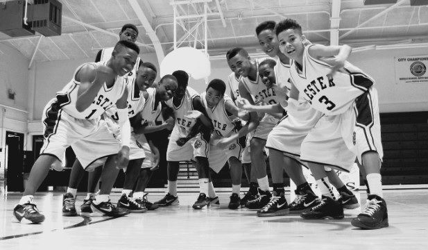 Photo of Penny Hardaway Lester Middle school team