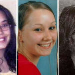 Photos of Cleveland kidnap victims Gina DeJesus Amanda Berry and Michelle Knight