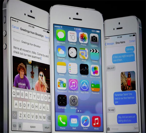 iPhone iOS 7 Software Update revealed at WWDC 2013