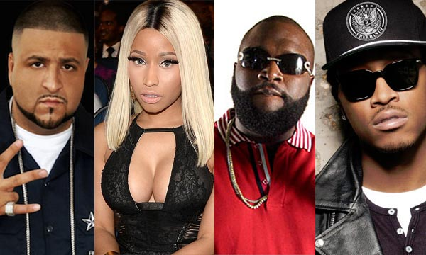 Music artist DJ Khaled, Nicki Minaj, Rick Ross, Future - I Wanna Be With You
