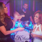 Photo of K. Michelle on Wendy Williams Show